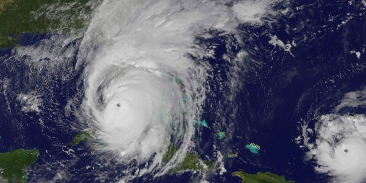 """La cara de la muerte"": Nasa capta espeluznante ""rostro"" en pleno ojo del huracán Irma"