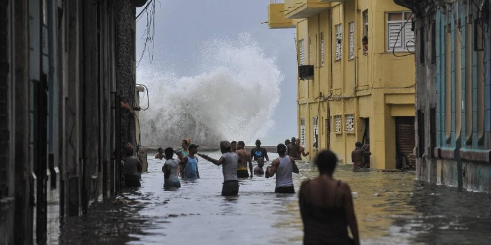 Inundaciones por el huracán Irma en Cuba
