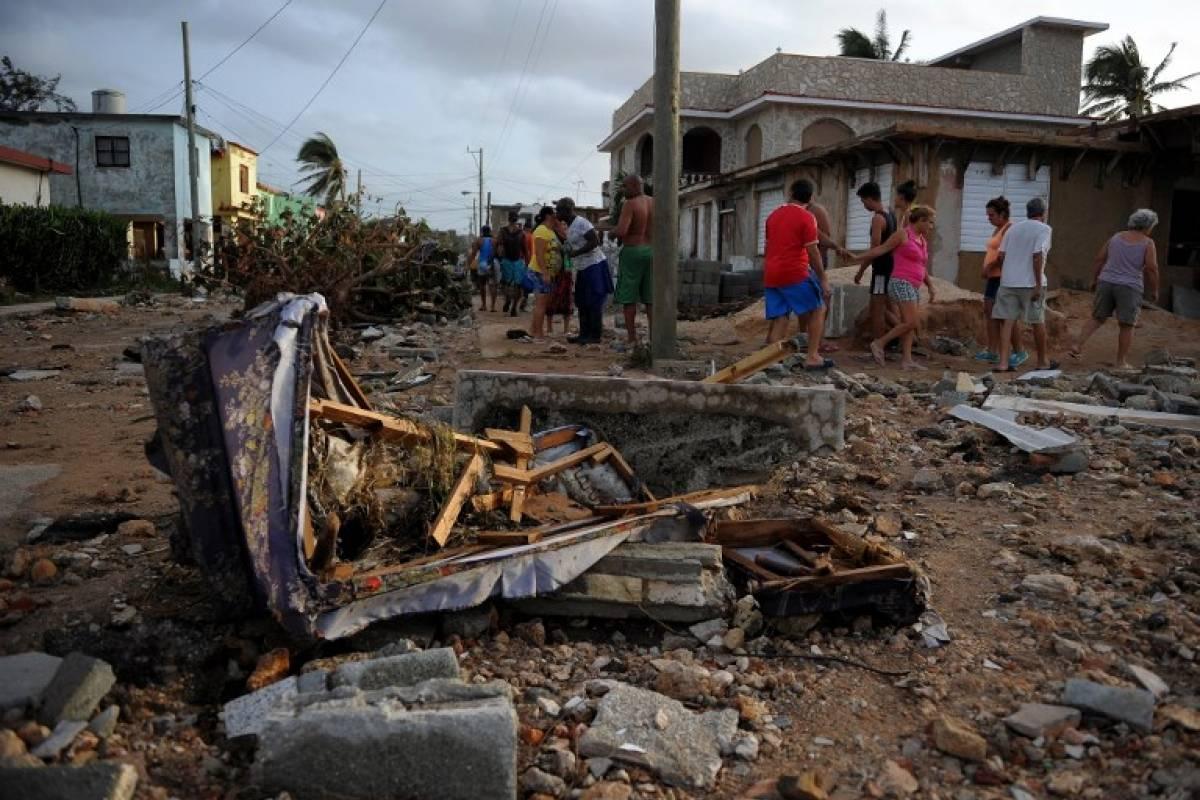 Daños por el huracán Irma en Cuba