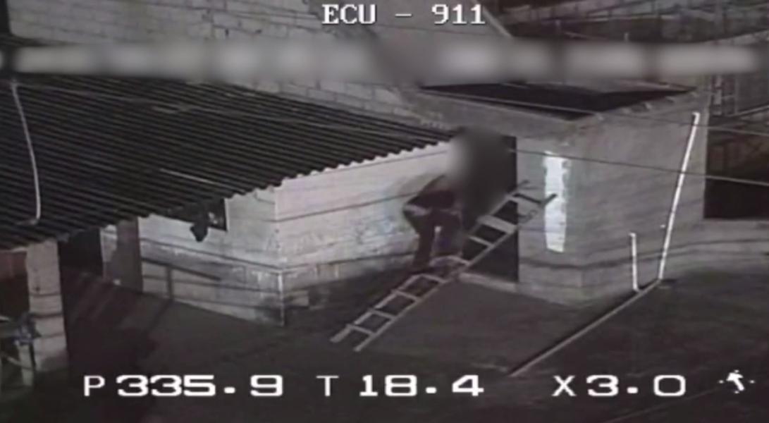 Captan presunto intento de robo a casa en Ibarra