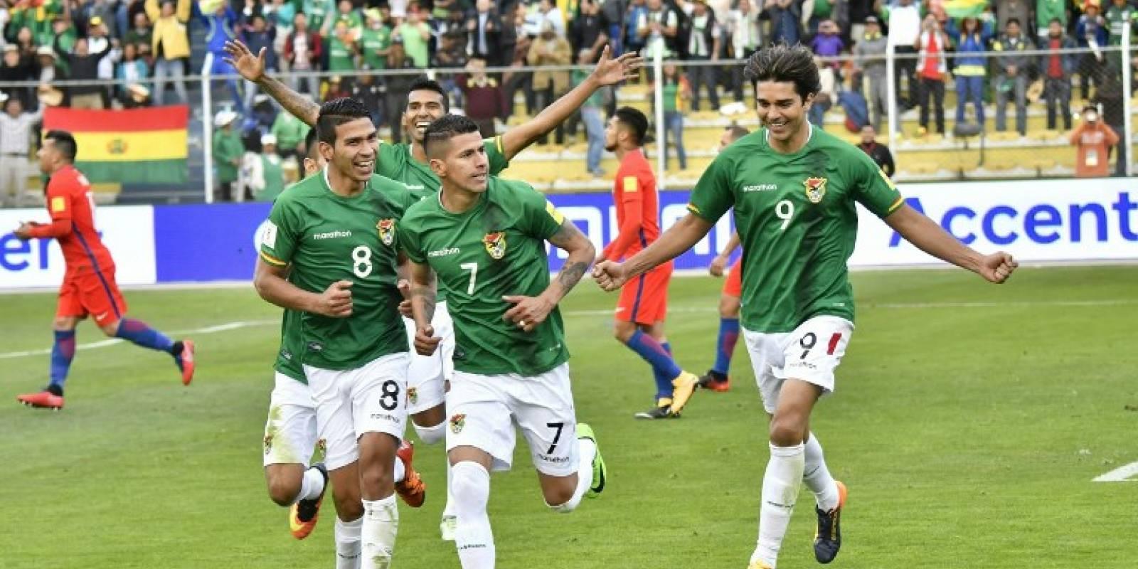 Gol de Bolivia contra Chile