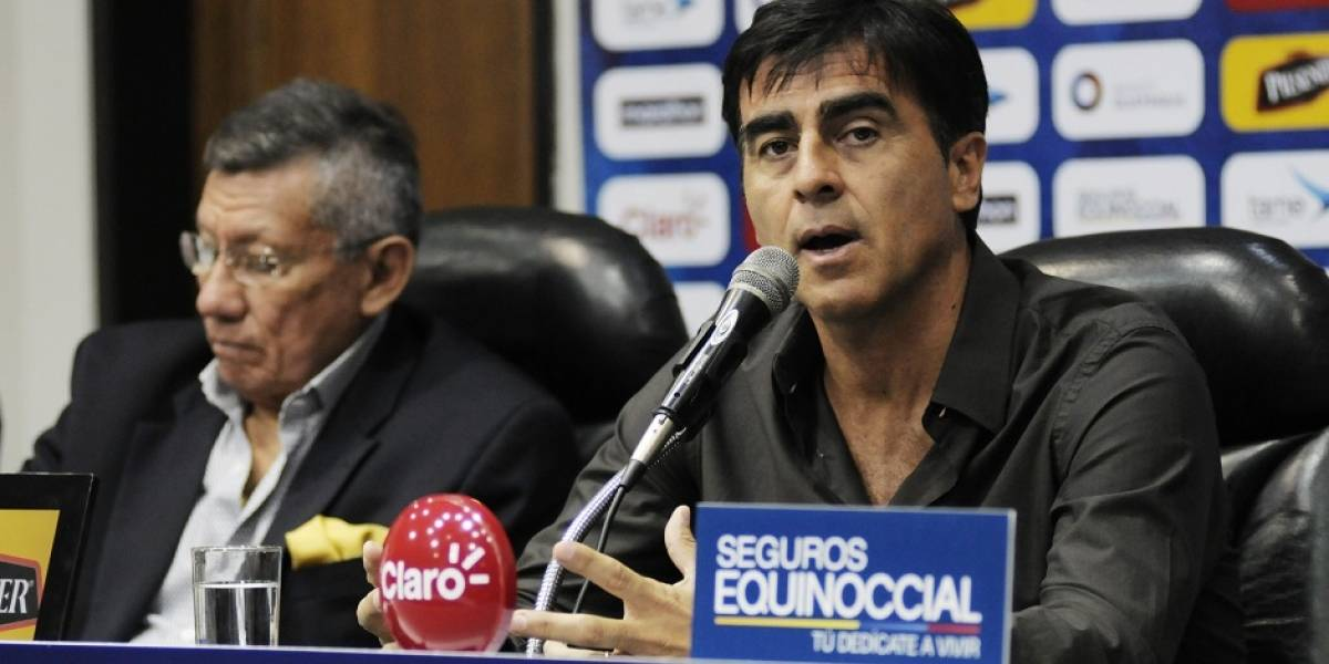 Quinteros es retirado de la selección de Ecuador tras negarse a renunciar