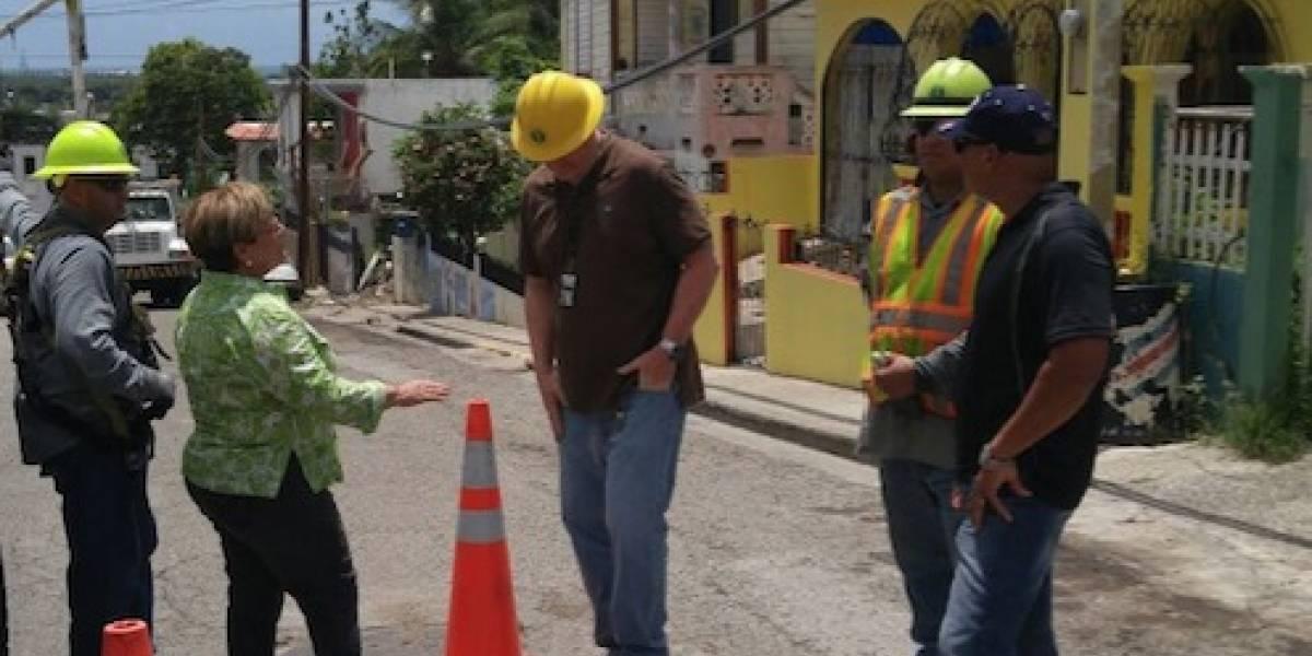 FEMA visita Ponce y evalúa daños causados por Irma