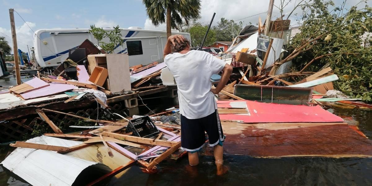 Irma se debilita pero no deja de causar daños