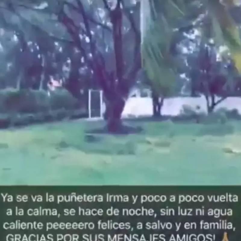 Huracán Irma causa daños en casa de Adamari López