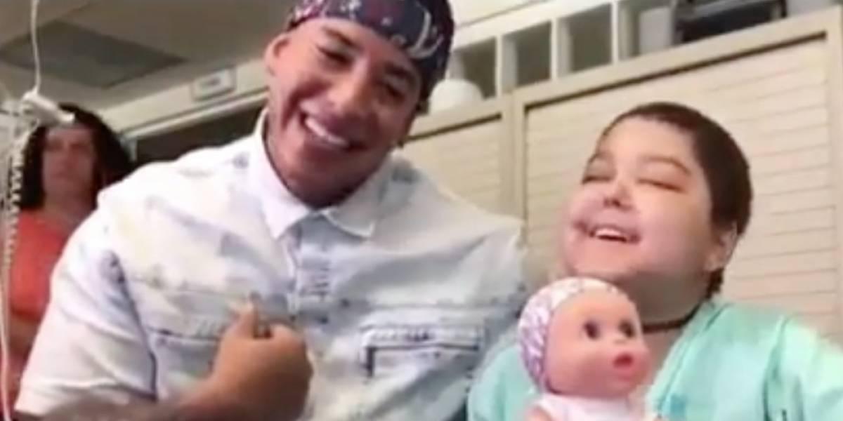 """Fallece niña que conquistó corazón de Daddy Yankee con """"Despacito"""""""