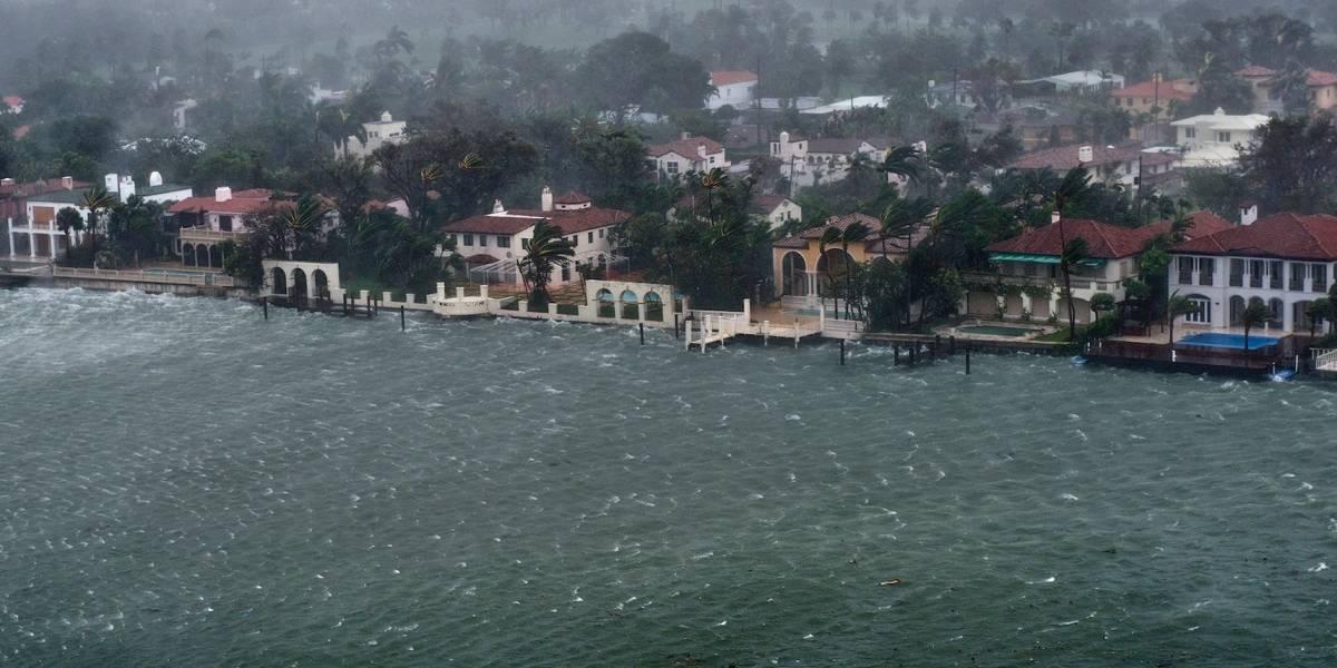 Irma continúa debilitándose mientras se mueve por el sur de Georgia