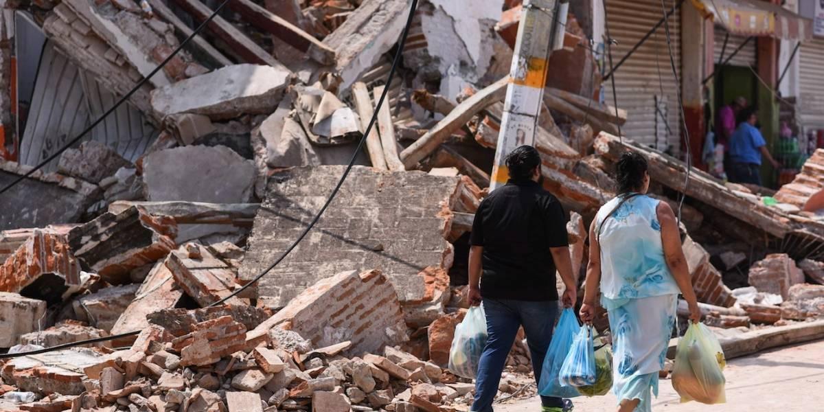 Hasta 20% comercios y empresas, afectados por sismo en Oaxaca