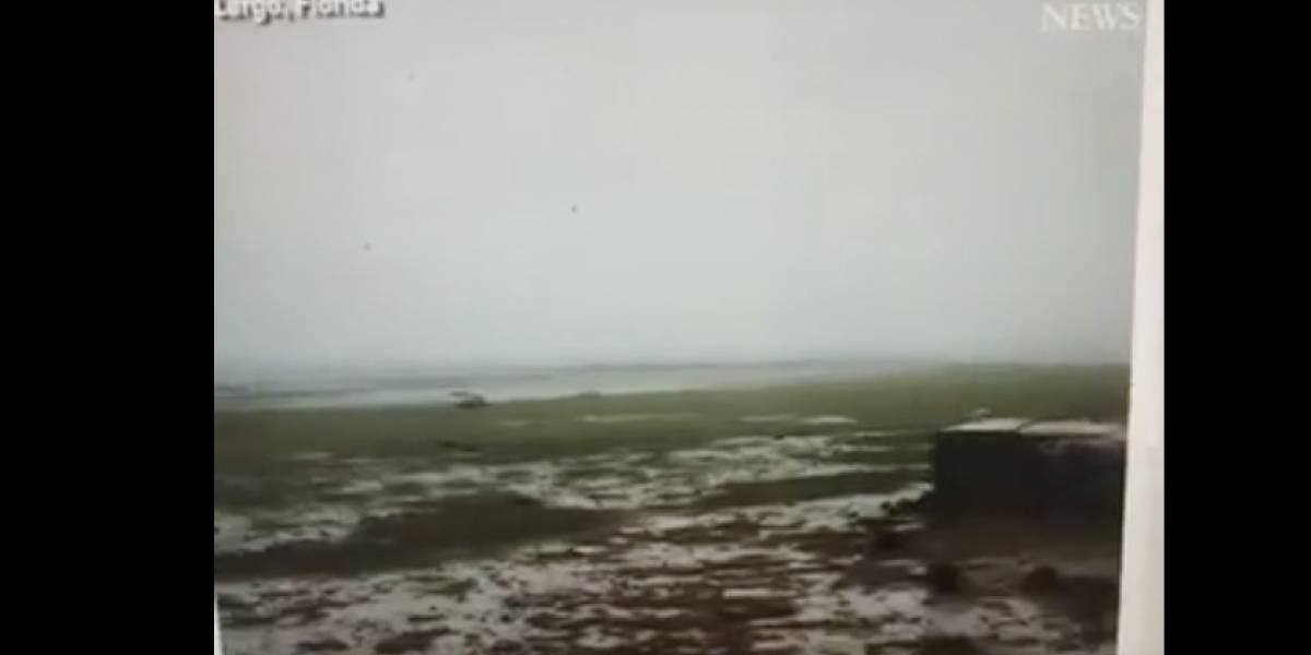 Explican por qué el mar se retiró en distintas costas
