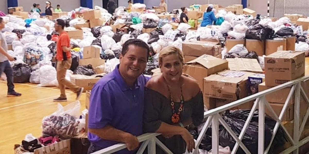 Establecen en Guaynabo centro de acopio para damnificados de Irma