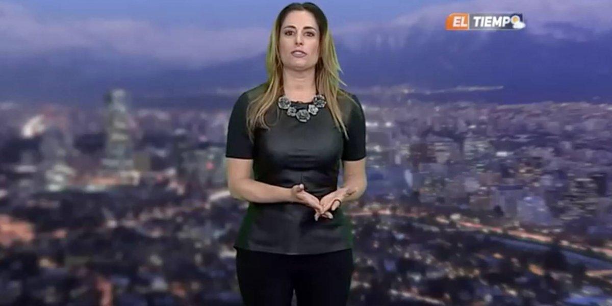 """El divertido """"chascarro"""" que vivió Francisca Sfeir en """"El Tiempo"""""""