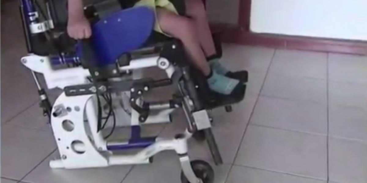 Ladrones se robaron llantas de la silla de ruedas de un niño con parálisis cerebral