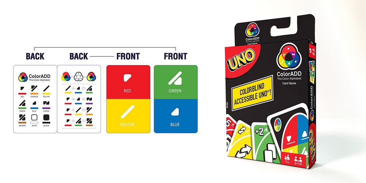 Empresa lança jogo Uno em versão para daltônicos