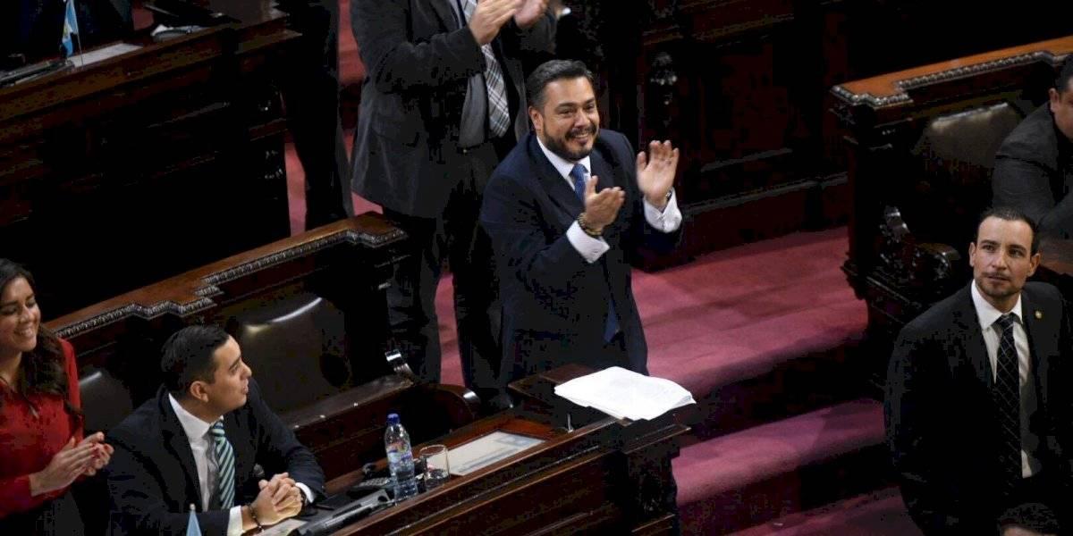 Javier Hernández, por quinto año consecutivo, será jefe de bancada de FCN-Nación