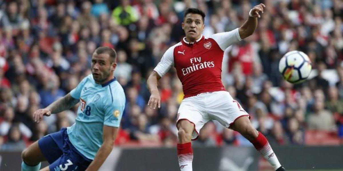 Alexis Sánchez, a reconquistar al hincha de Arsenal