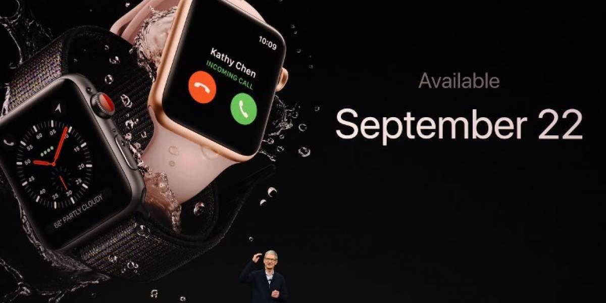 """Llegó el """"Día D"""": revelan las novedades de la nueva gama del Apple Watch y Apple TV"""