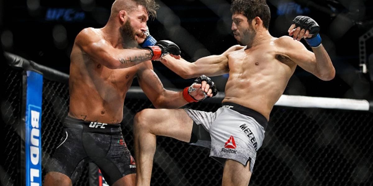 Luchador de la UFC acaba con una pierna 'destrozada' tras combate