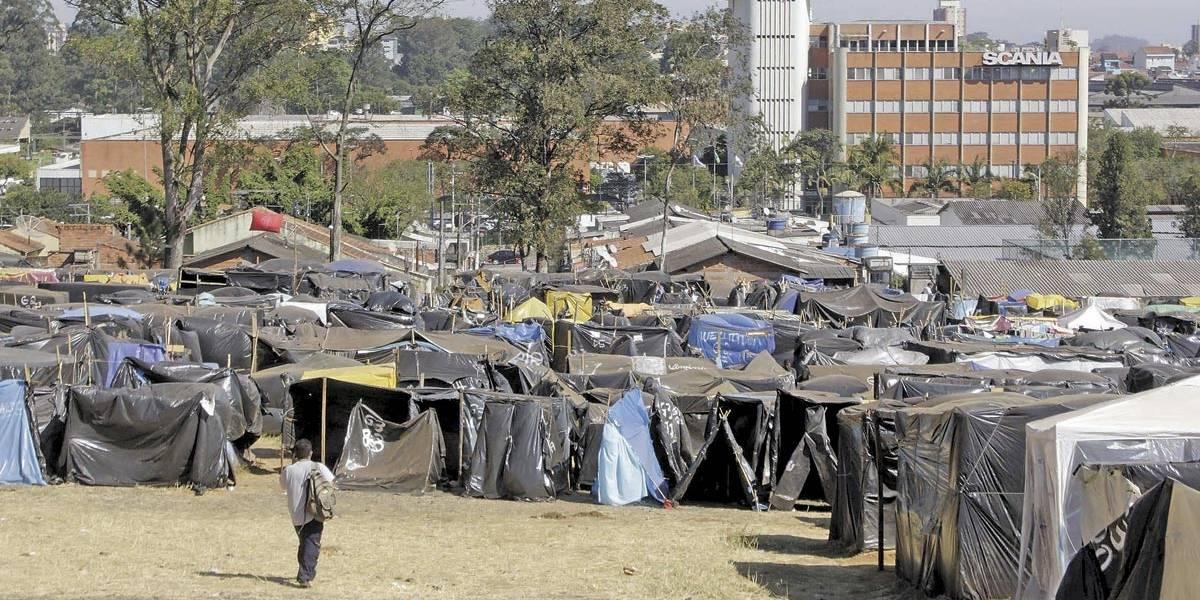 Sem acordo, ocupação do MTST em São Bernardo ganha corpo