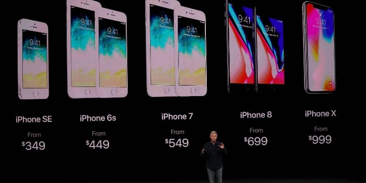 Apple presenta sus tres nuevos dispositivos