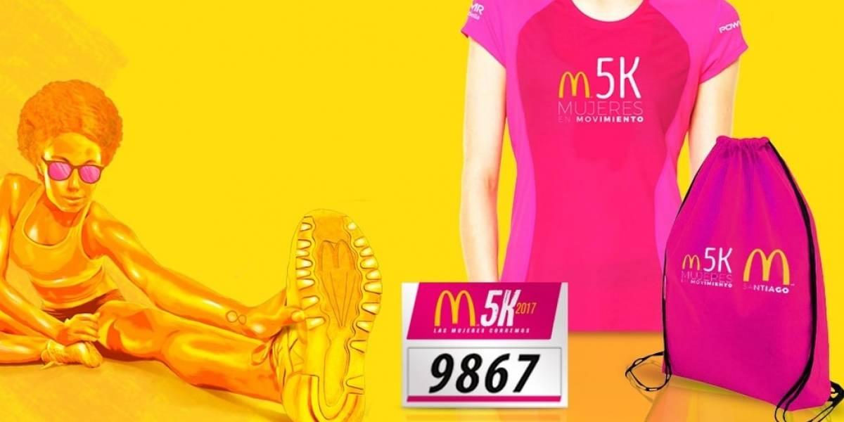 Más de 1.000 mujeres correrán la tradicional corrida M5K en octubre