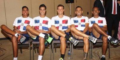 Equipo de RD confiado para el duelo de Copa Davis ante Perú