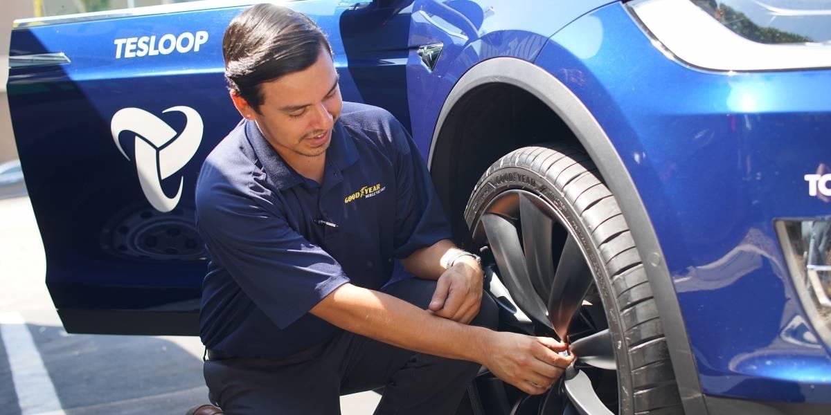 Goodyear trabaja sus neumáticos del futuro con flota de autos semiautónomos