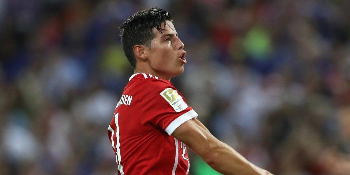 Con gol de James Rodríguez, el Bayern Múnich es campeón de la Bundesliga