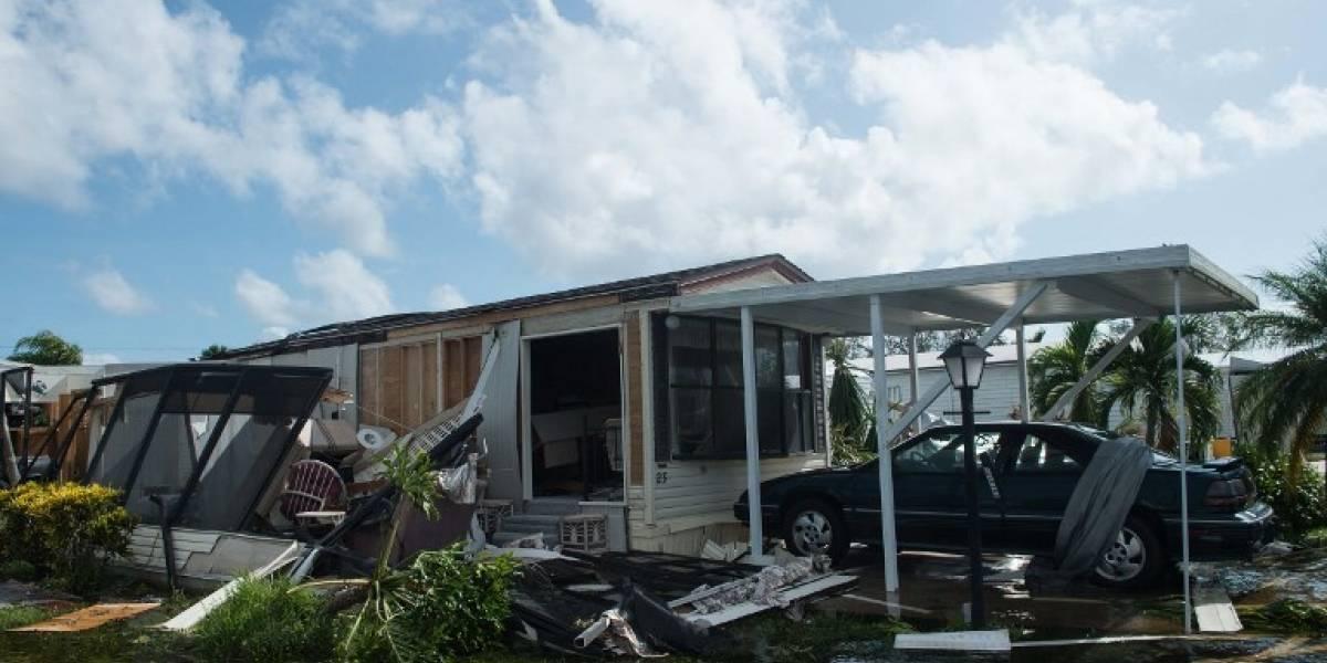 El huracán Irma destruyó la cuarta parte de las casas en los Cayos de Florida