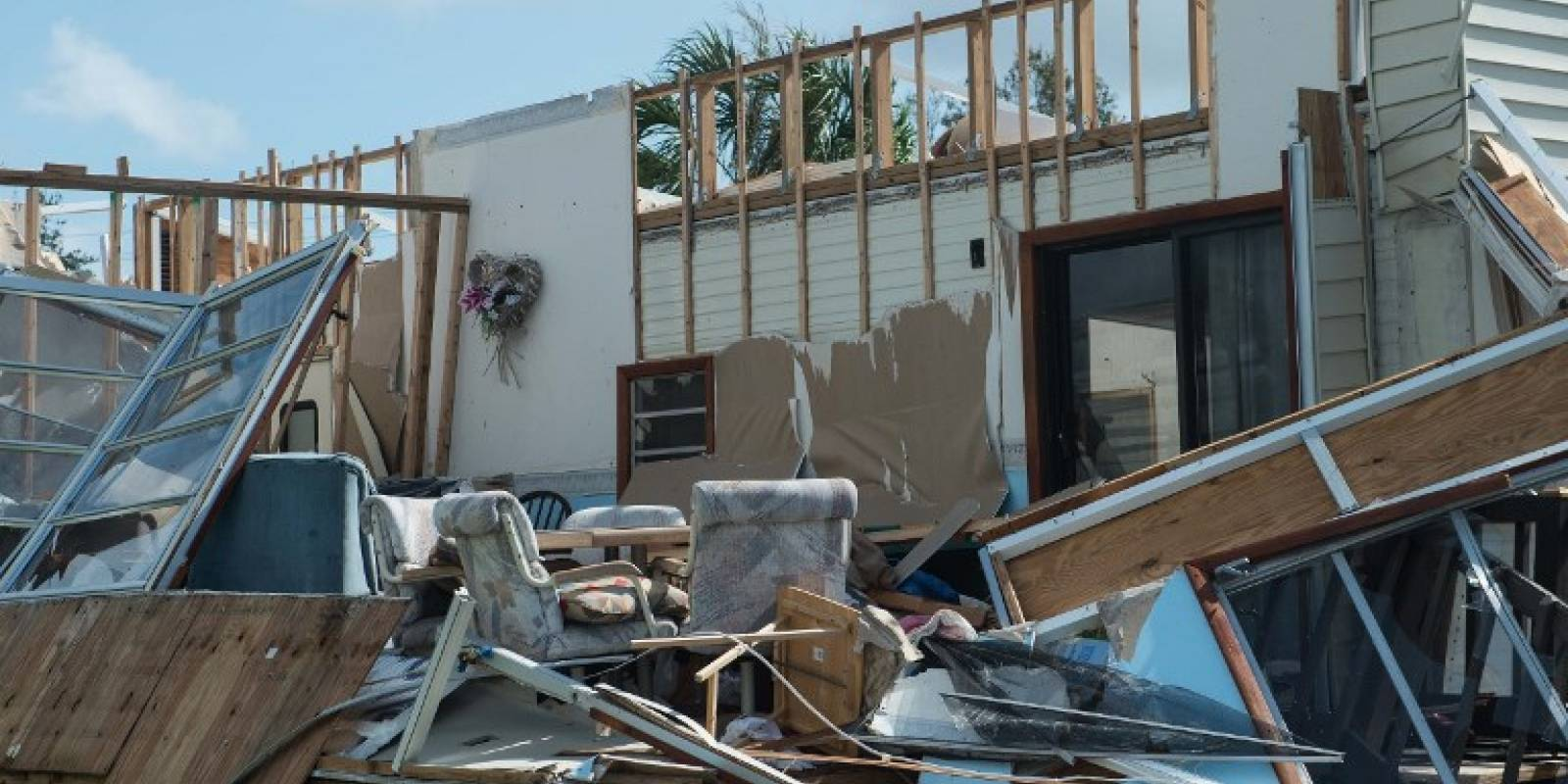Destrucción en los Cayos de la Florida por el huracán Irma