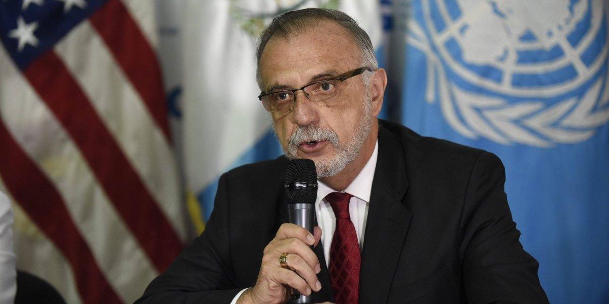 """Jefe de CICIG señala al """"grupo del Mariscal Zavala"""" de las campañas en su contra"""