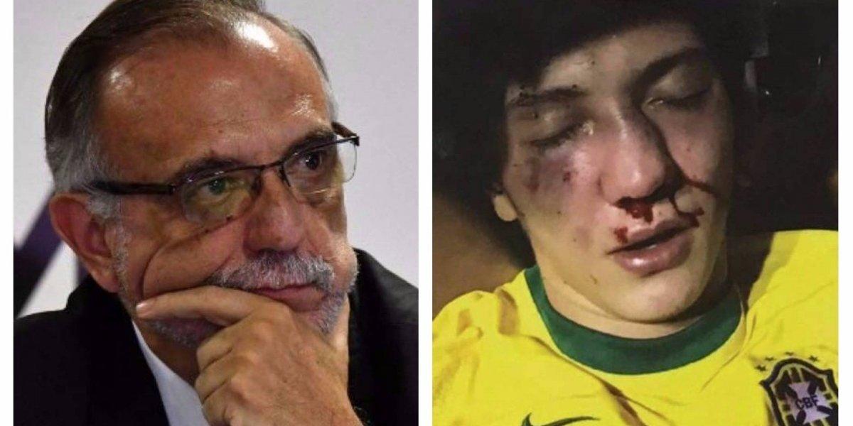 Iván Velásquez habla sobre brutal golpiza a jugador que se viralizó en redes