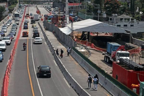 Reabren carriles de Paso Exprés de Cuernavaca