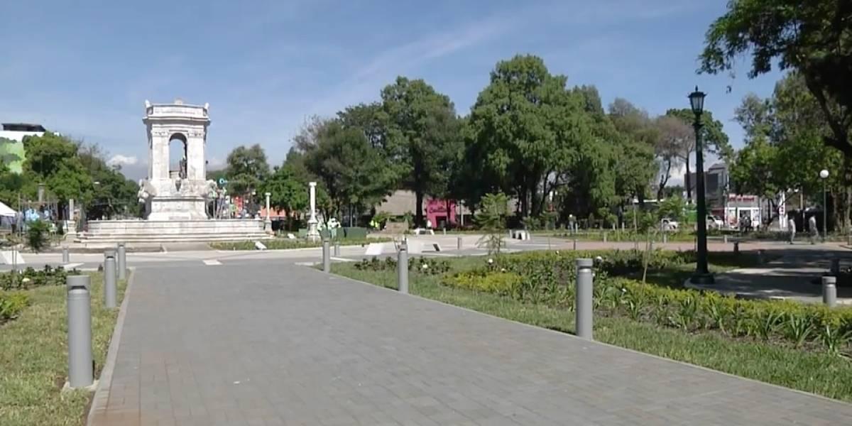 La nueva Plaza España será inaugurada mañana por la Municipalidad