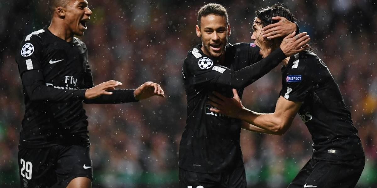 VIDEO. El tridente del PSG hace estragos ante el Celtic en la Champions