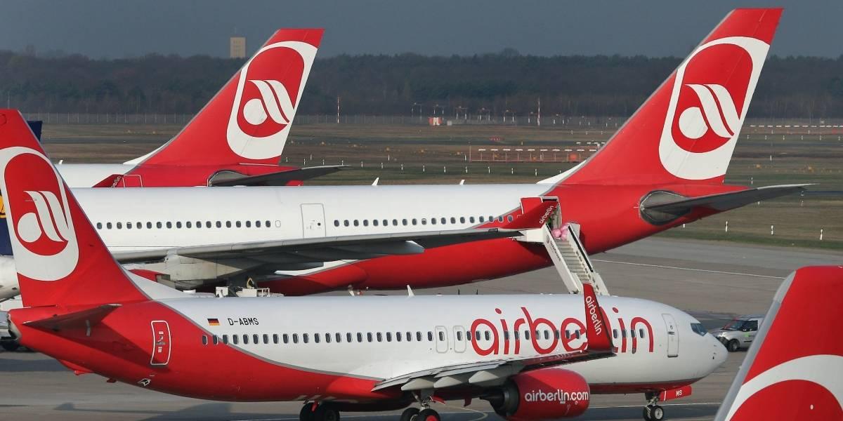 Air Berlin cancela vuelos por enfermedad de pilotos
