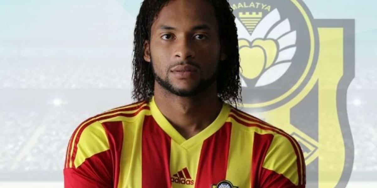 Arturo Mina, responsable de la derrota del Yeni Malatyaspor