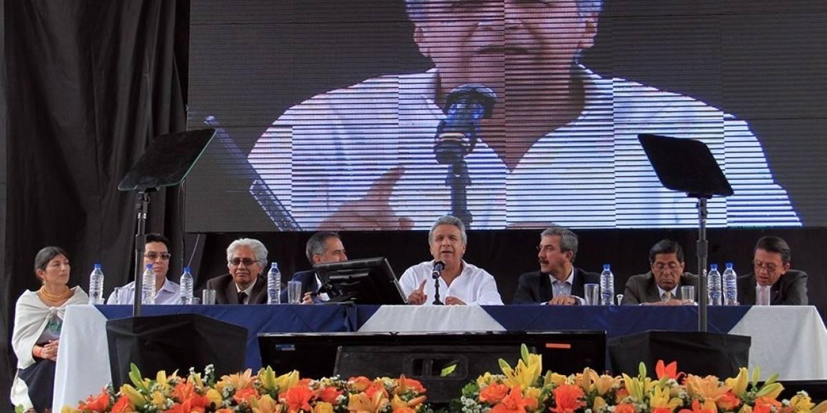 Moreno sobre Yachay: Hay edificios que tienen serios problemas estructurales