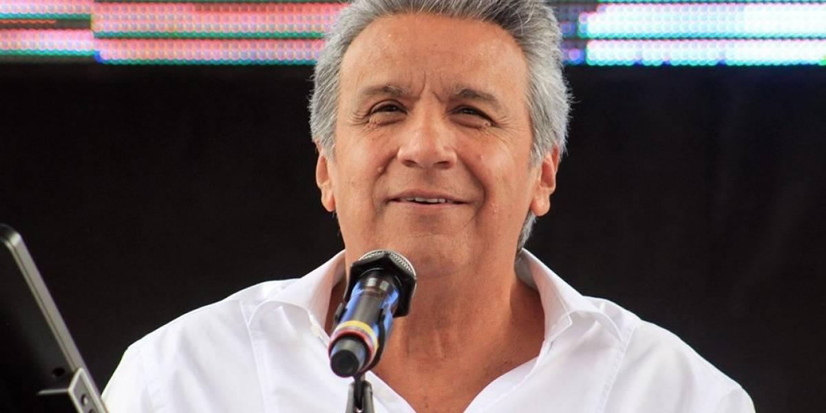 Lenín Moreno asistió al 'Choque de Ídolos'