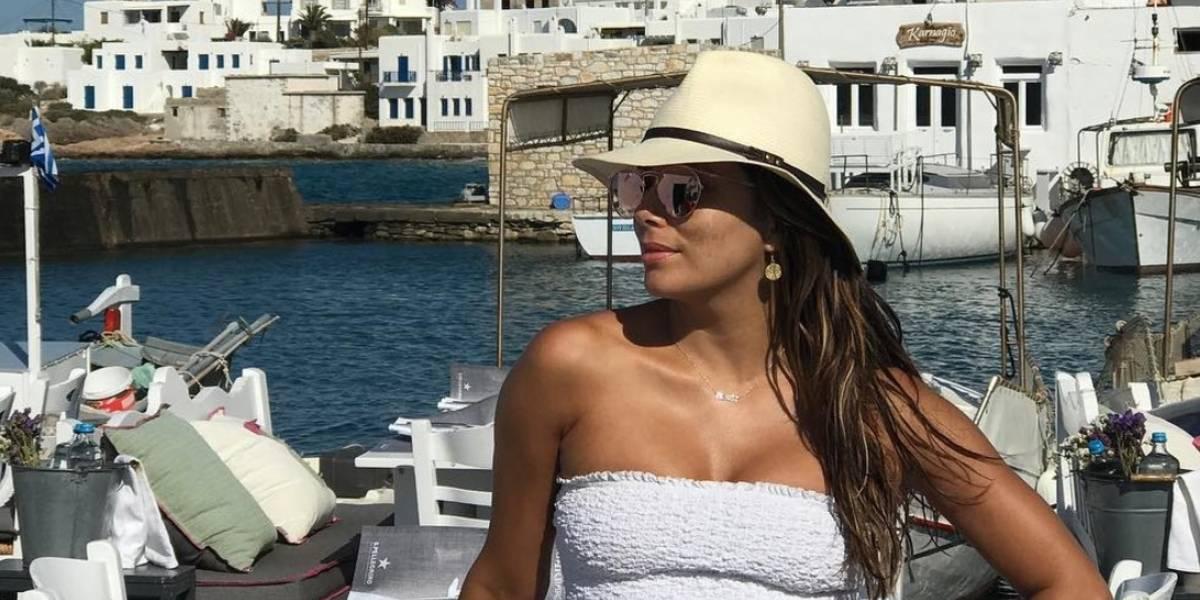 Video de Eva Longoria en traje de baño causa controversia en las redes