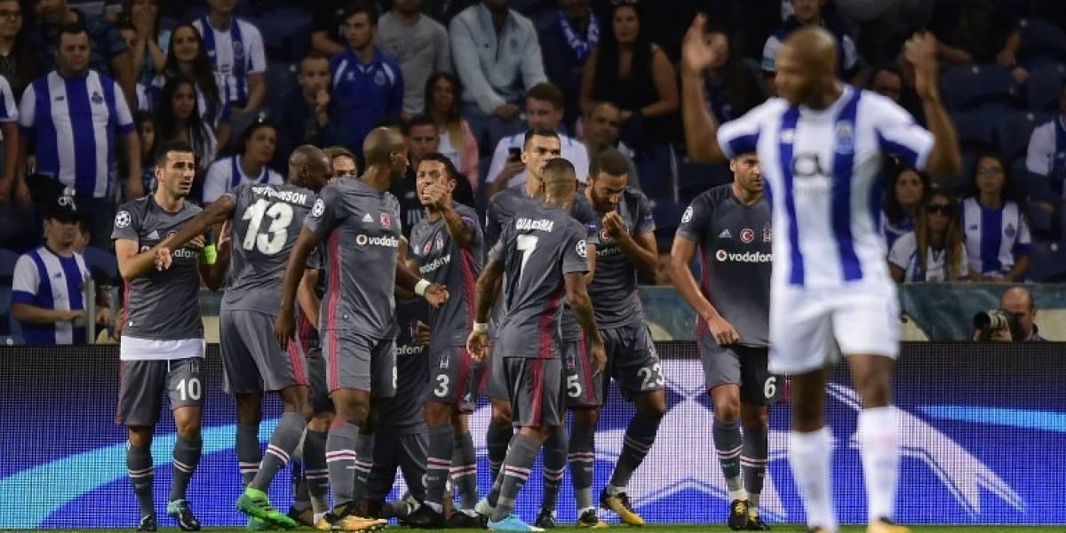Minuto a minuto: Gary Medel mira desde la banca el debut del Besiktas en la Champions League