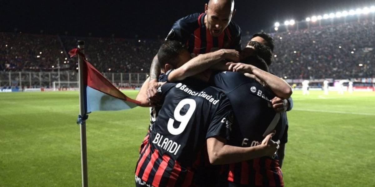 San Lorenzo golpeó a Lanús en la Copa Libertadores con Paulo Díaz como titular