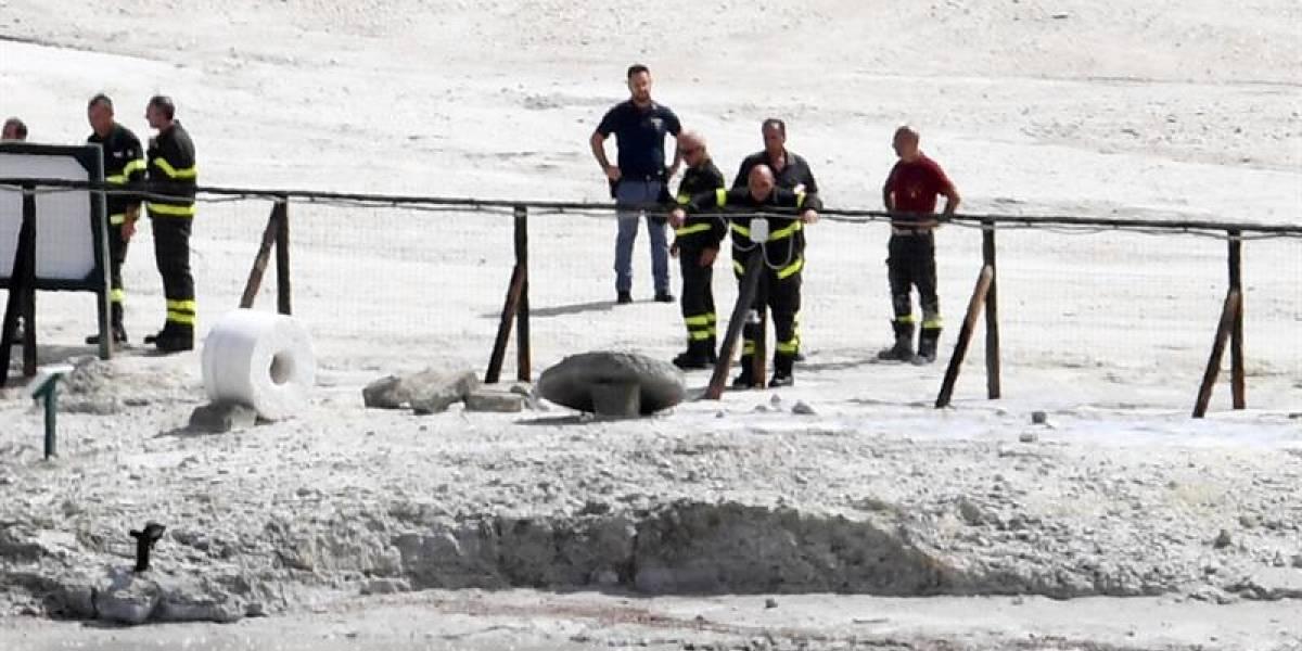 Fatal desenlace: tres miembros de una familia mueren al caer a un cráter en Italia