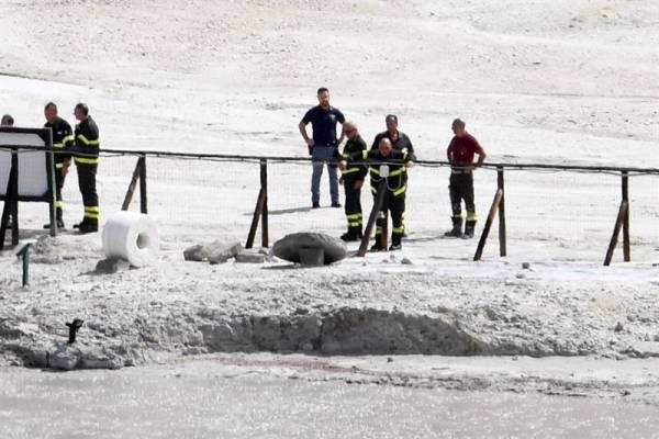 accidente crater Italia