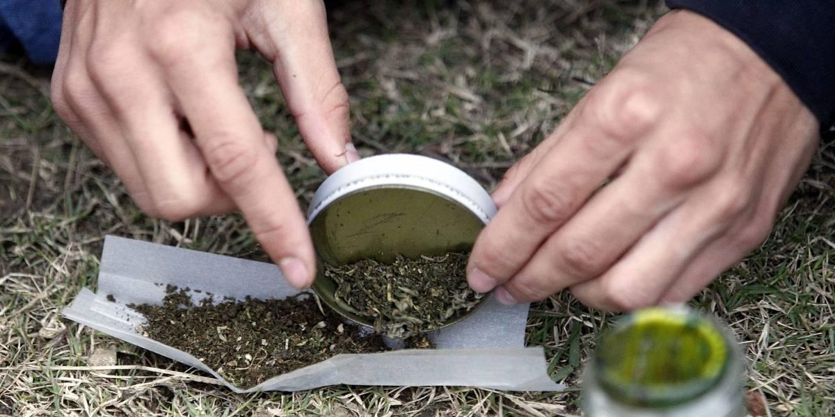Policía de Bogotá encuentra caleta de marihuana en medio de una persecución