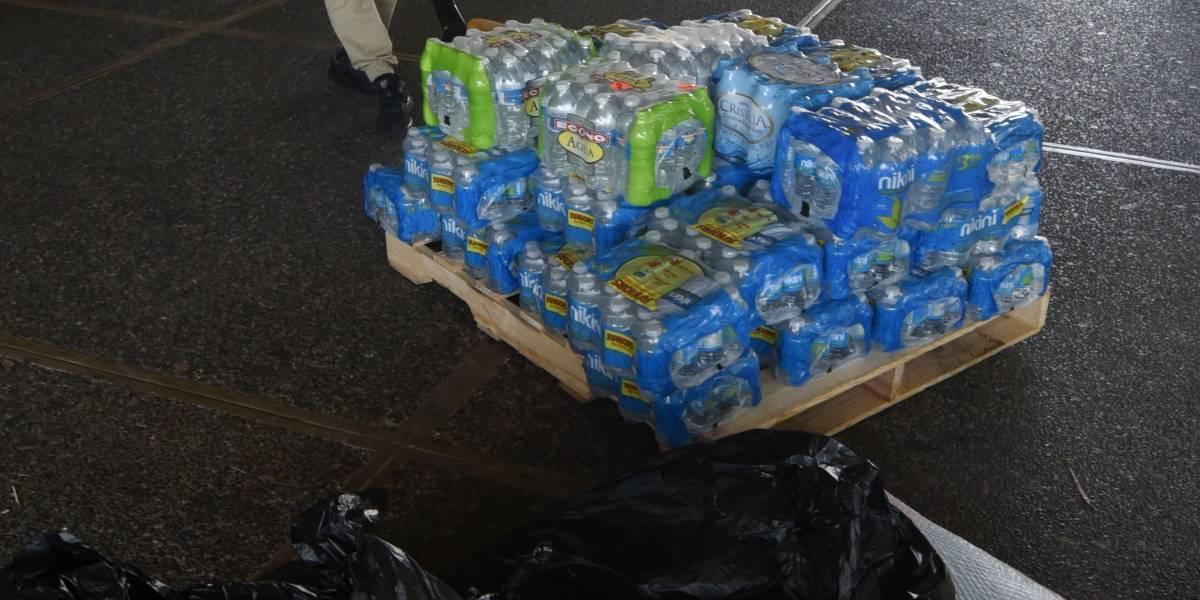 Sobre 300 familias reciben suministros en Luquillo