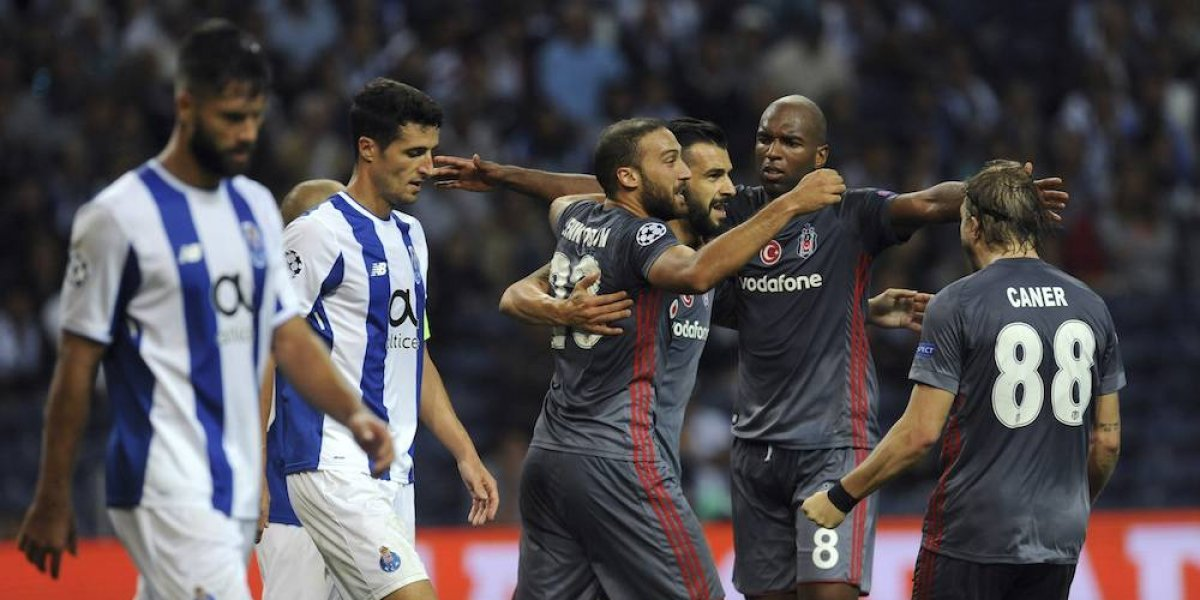 Porto cae ante el Besiktas en el arranque de la Champions