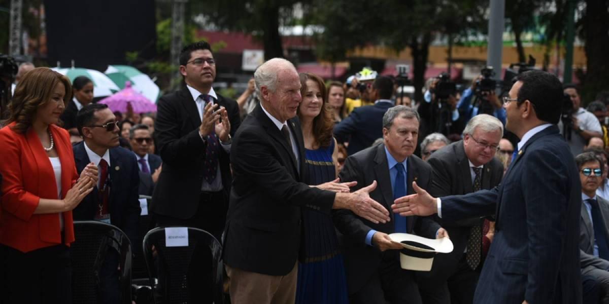 """Alcalde Arzú: """"Estoy totalmente de acuerdo con la inmunidad del presidente"""""""