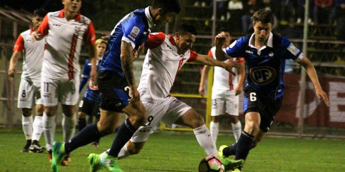Huachipato golpeó de visita a San Felipe y dejó encaminada la llave de Copa Chile