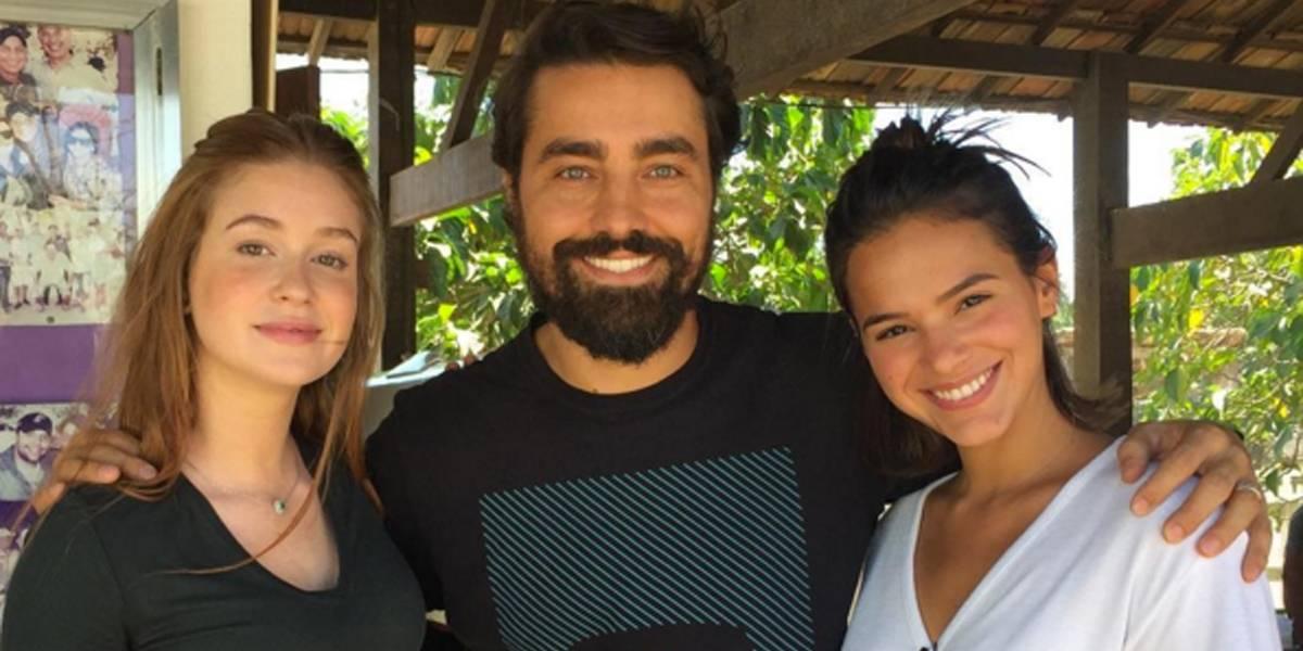Bruna Marquezine e Marina Ruy Barbosa voltam ao batente após férias agitadas