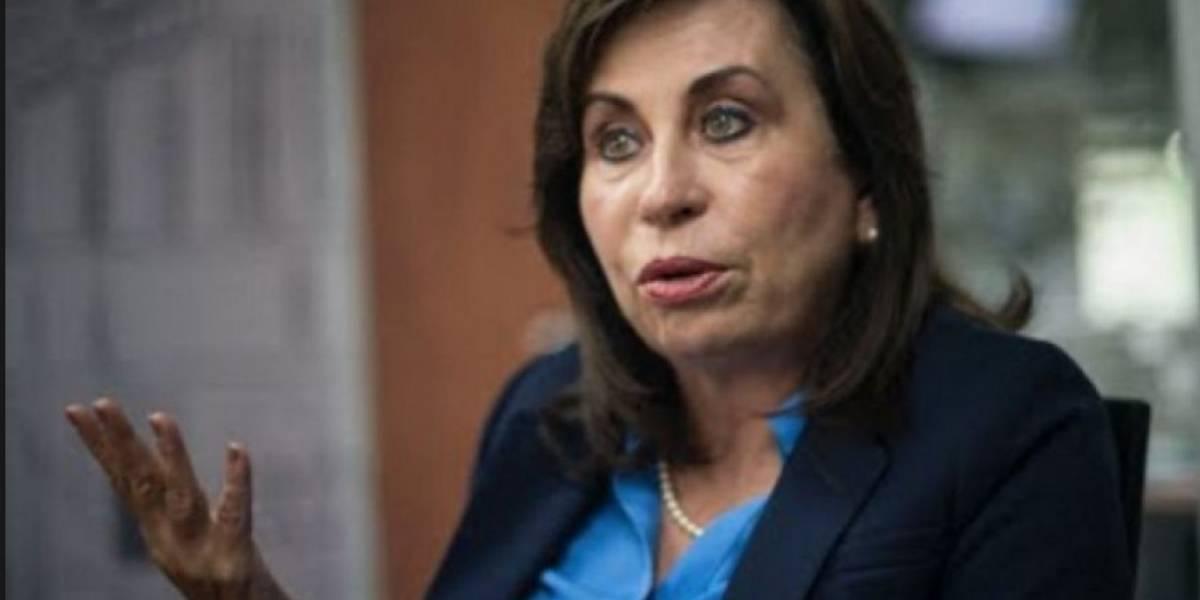 "Sandra Torres dice estar ""sorprendida e indignada"" por #PactoDeImpunidad"